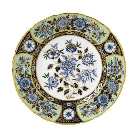 Royal Crown Derby  Imari Accent Midori Meadow Plate in Gift Box $270.00