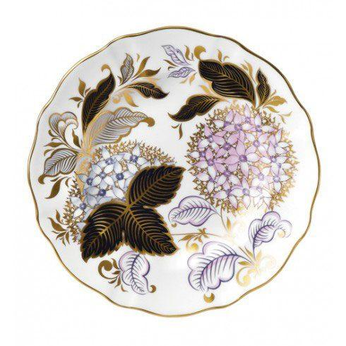 Royal Crown Derby  Season Accent Plates Seasons Accent Midwinter Blue Plate in Gift Box $215.00