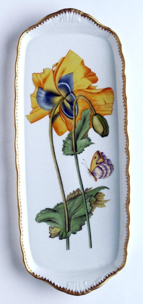 $498.00 Sandwich Tray w/ Large Yellow Flower