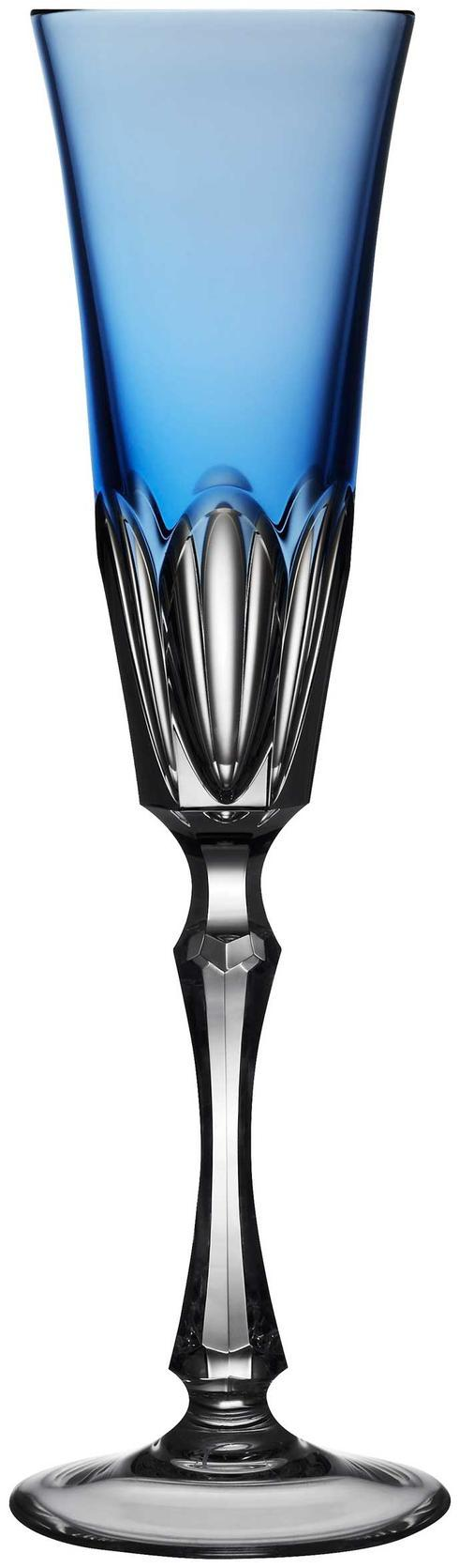 $198.00 Sky Blue Champagne Flute