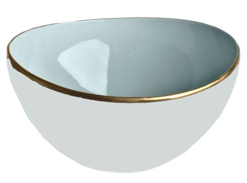 Anna Weatherley Colors Powder Blue Open Vegetable Bowl $135.00