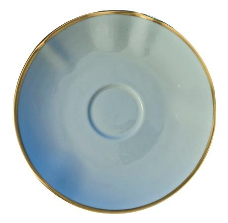 Anna Weatherley Colors Powder Blue Tea Saucer $33.00