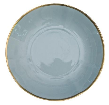 Anna Weatherley Colors Powder Blue Soup Bowl $55.00