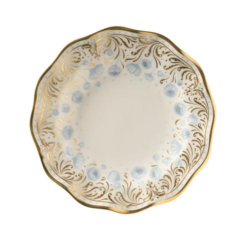 Royal Crown Derby  Royal Peony - Blue Bread and Butter Plate $142.00