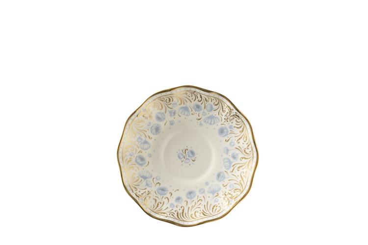 Royal Crown Derby  Royal Peony - Blue Tea Saucer $110.00