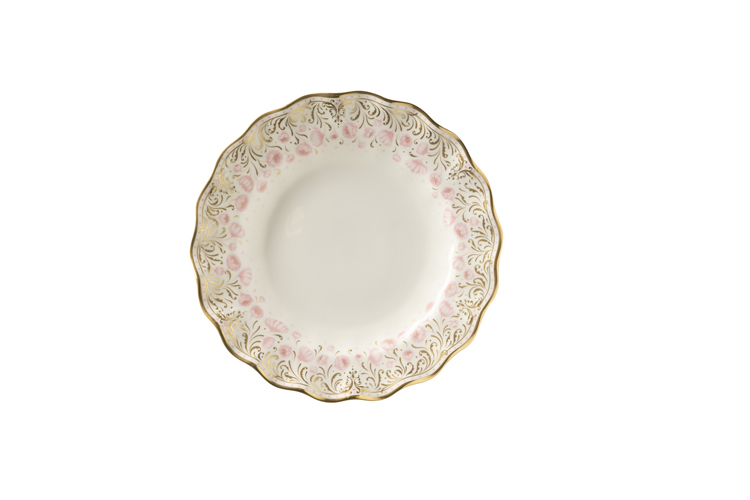 Royal Crown Derby  Royal Peony - Pink Salad Plate  $165.00