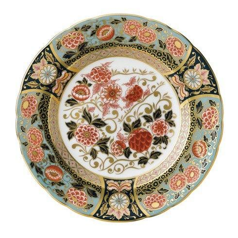Royal Crown Derby  Imari Accent Riverside Park Plate in Gift Box $270.00