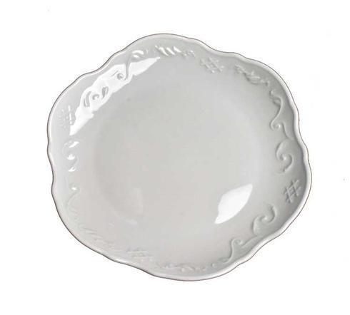Anna Weatherley  Simply Anna - White Bread and Butter Plate $16.00