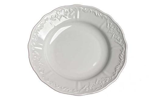 Anna Weatherley  Simply Anna - White Rim Soup Bowl $24.00
