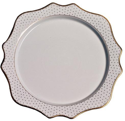 Anna Weatherley  Simply Anna - Antique Polka Charger $125.00