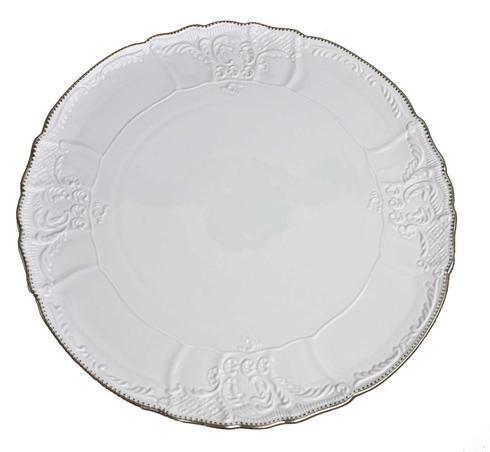 $118.00 Simply Anna Platinum Torte Plate