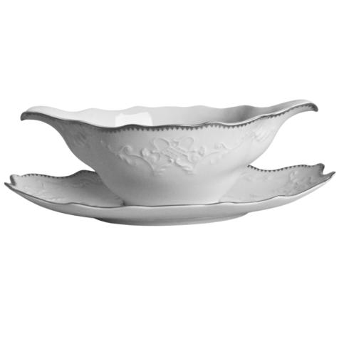 Anna Weatherley  Simply Anna - Platinum Gravy Boat Tray Only $55.00