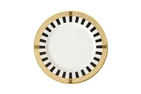 Royal Crown Derby  Satori Black Bread and Butter Plate $60.00