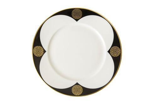 Royal Crown Derby  Satori Black Salad Plate $82.00