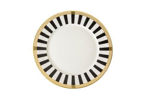 Royal Crown Derby  Satori Black Dinner Plate $120.00