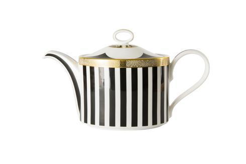 Royal Crown Derby  Satori Black Tea Pot $321.00