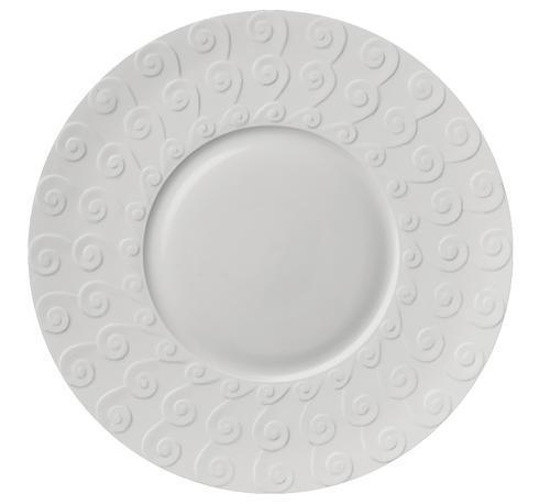 $172.00 White Presentation Plate