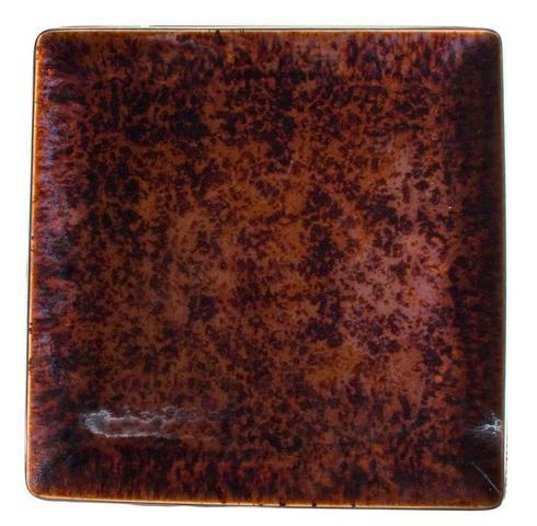 Tortoise Platinum Finition Medium Square Plate collection with 1 products