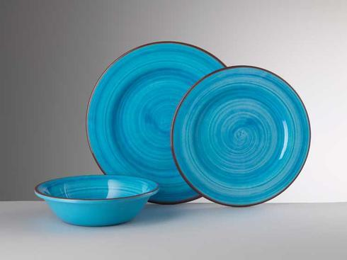Dinnerware - St. Tropez Turquoise collection with 4 products