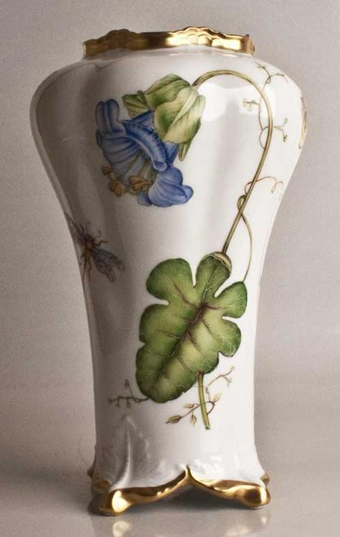 $578.00 Blue Flower Antique Vase
