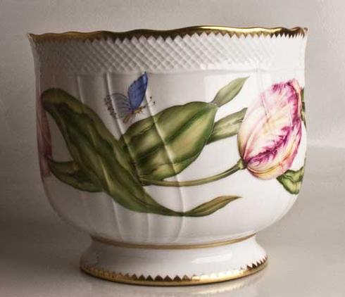 $425.00 Round Pink Tulip Cachepot
