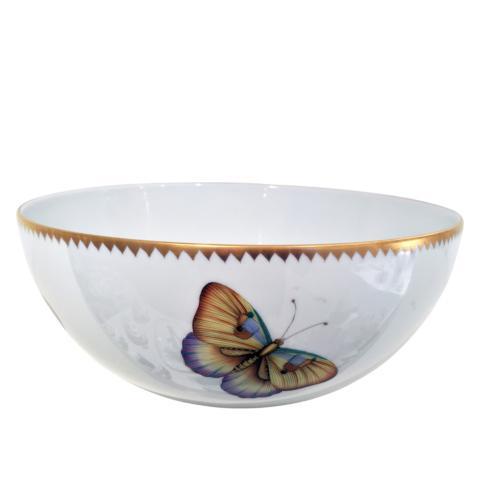 $415.00 Exotic Butterflies Serving Bowl