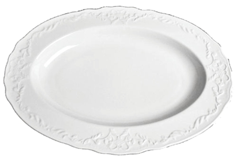 Anna Weatherley  Simply Anna - White Oval Platter $98.00