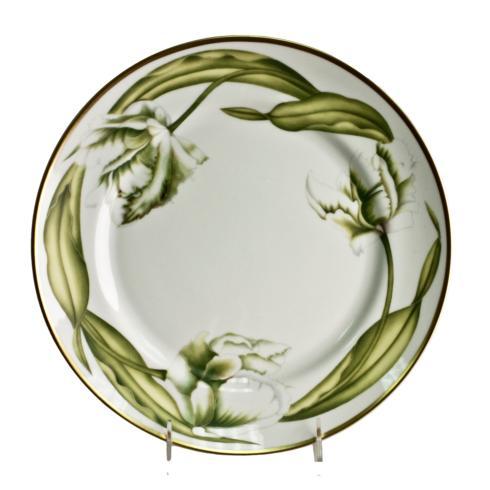 Anna Weatherley  White Tulips Dinner Plate $82.00