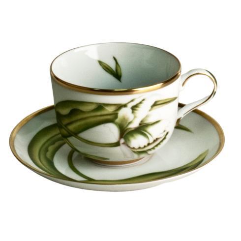 Anna Weatherley  White Tulips Tea Saucer $30.00