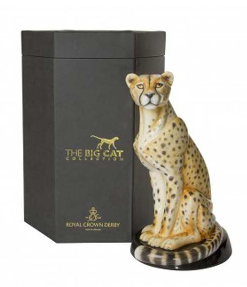 $4,410.00 African Cheetah Paperweight