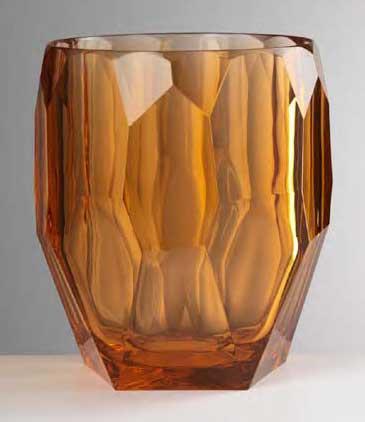 $180.00 Amber Ice Bucket
