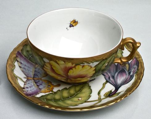 $500.00 Tea Cup & Saucer