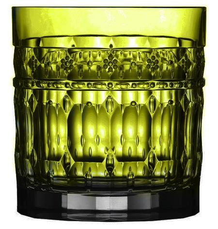 $268.00 Yellow Green Double Old Fashioned