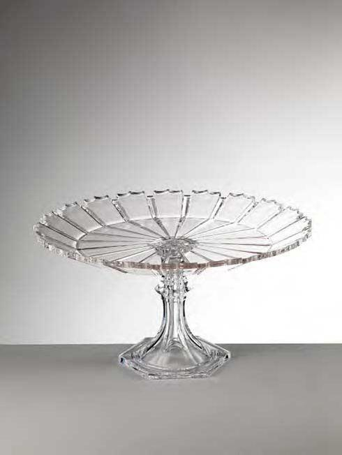 $98.00 Clear Cake Plate