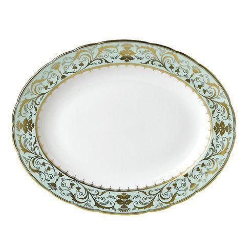 Royal Crown Derby  Darley Abbey Medium Platter $580.00