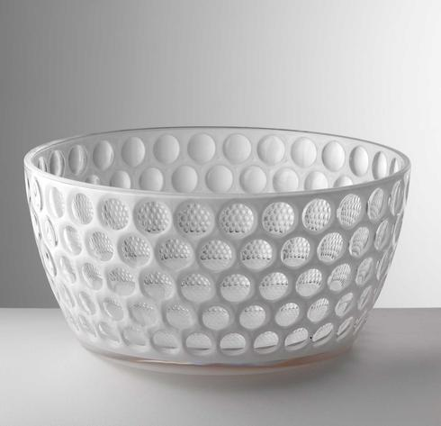 Mario Luca Giusti  Serving - Lente White Salad Bowl $85.00