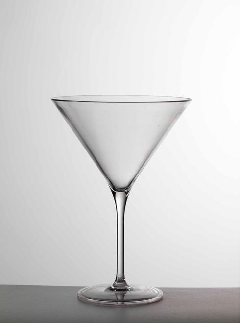 Mario Luca Giusti  Stemware - Clear Martini Glass $27.00