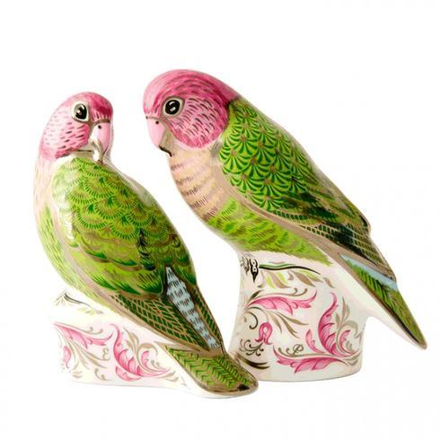 $375.00 Queen\'s Platinum Wedding Anniversary - Majestic Love Birds