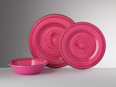 Dinnerware - St. Tropez Fuchsia collection with 2 products