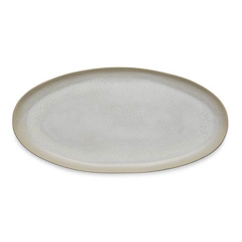 Jars Plume Perle Oval Platter $201.00