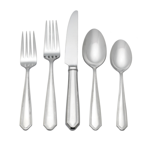 Crestridge Bead 5 piece place setting collection with 1 products