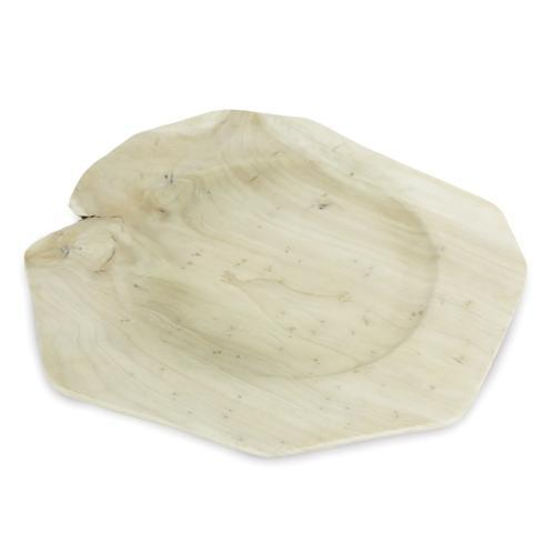 Enrico  RootWorks Whitewashed Root Serving Tray/Charger *New.. $27.95