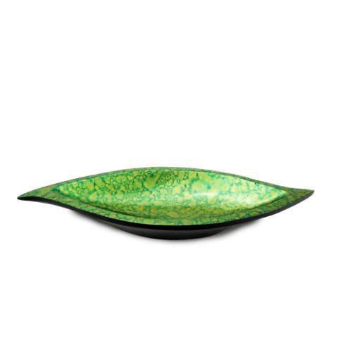 Green & Gold S-Shape Tray
