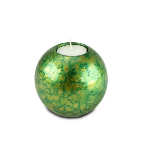 Green & Gold Tea Light