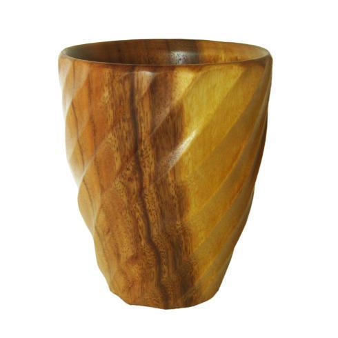 Enrico  Spiral Acacia Spiral Utensil Vase $24.95