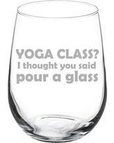 Susquehanna Glass   Yoga Class/Pour a Glass $17.00