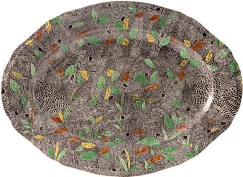 $360.00 Oval Platter (Foliage)