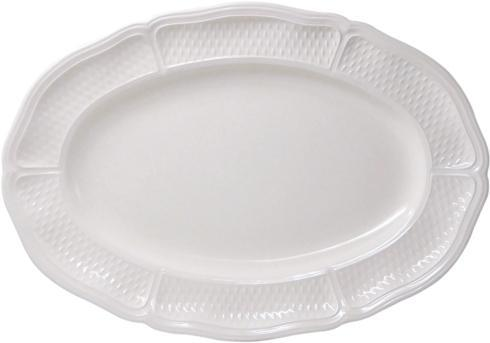 Gien  Pont Aux Choux White Medium Oval Platter $115.00
