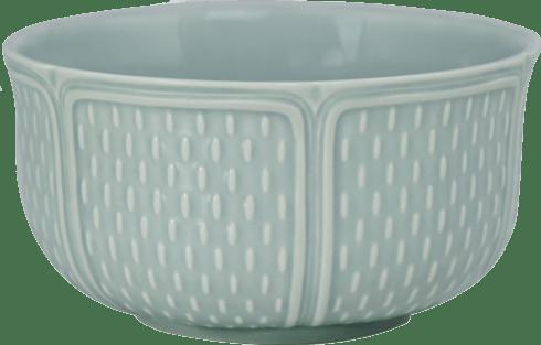 Gien  Pont Aux Choux Celadon (Earth Grey) Cereal Bowls XL $94.00