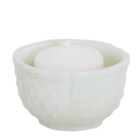 Gien  Pont Aux Choux Candles & Cups Votive White $23.00